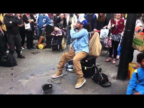 London's street DJ