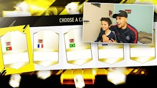 FUT 17 #8 - LA DRAFT LA PLUS LEGENDAIRE POSSIBLE !!! [FR]