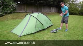 Vango Mirage Pro Tent Pitching Video
