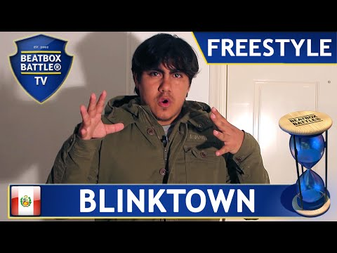 Blinktown from Peru - Freestyle - Beatbox Battle TV
