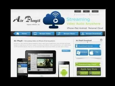 Air Playit - Streaming Videos Audios to iPhone iPad iPod & Android (for PC & Mac)