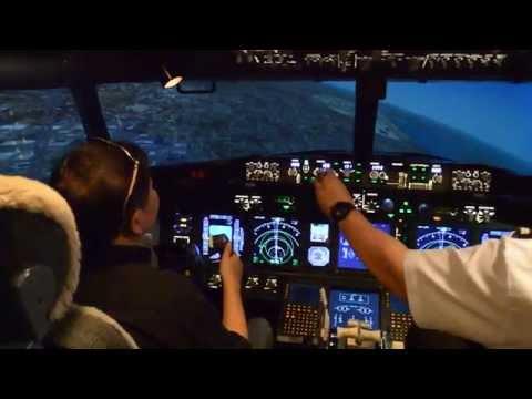 Boeing 737 Flight Simulator Experience  Bangkok