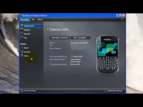 Cara Backup Blackberry