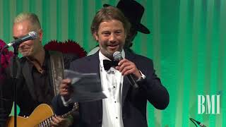 Jay Kay Accepts the President's Award at the 2017 BMI London Awards