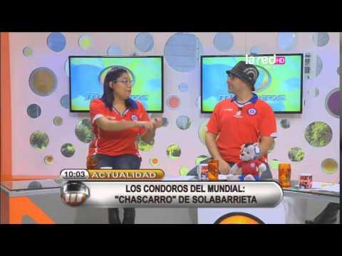 El chascarro de Solabarrieta durante el mundial