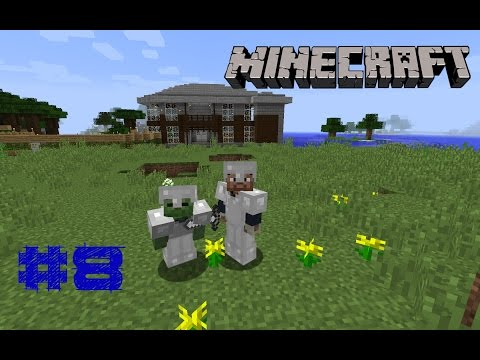 Minecraft Хардкор #8 Ферма животных