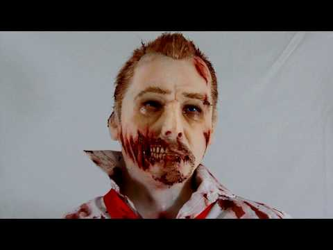 Shaun of the Dead Animatronic Simon Pegg Lifesize Zombie Bust (99% Complete)