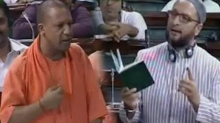 Download video UP CM Yogi Adityanath BEST SPEECH In Lok Sabha - AIMIM leader Asaduddin Owaisi - Uttar Pradesh