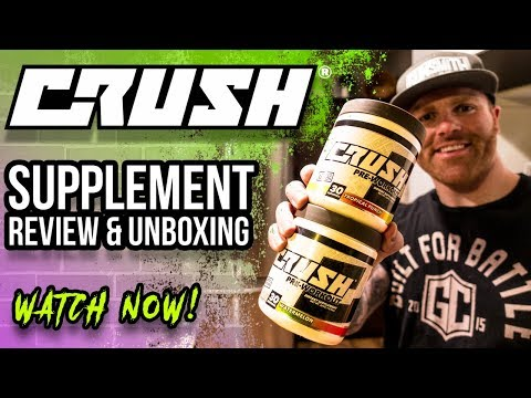 *NEW BRAND* CRUSH FIT Pre-Workout Supplement Review | New Flavors & Packaging | @BigRobEnergy