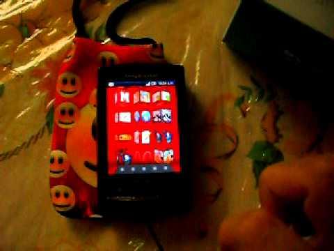 Sony Xperia™ X10 mini pro personalizado completo