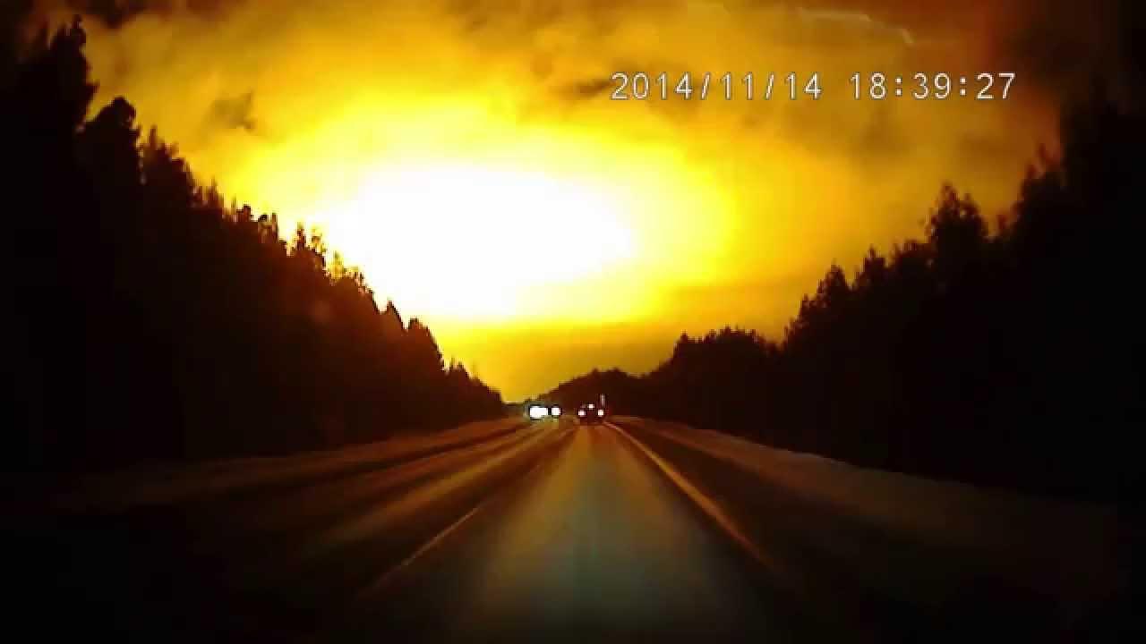 Fire in the Sky : UFO? Meteor? Blast? Massive Flash of ...