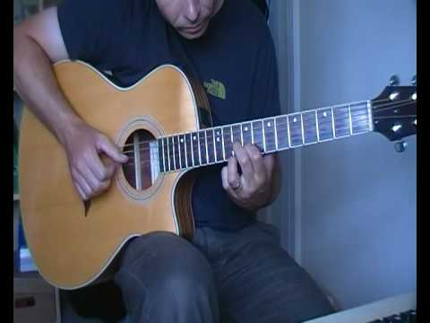 The Third Man (Harry Lime Theme) by Martin Carthy (Fingerstyle Guitar)