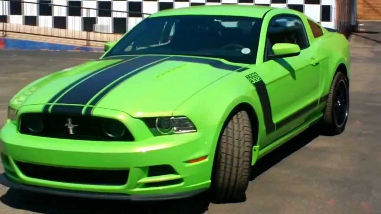 "O Meara Ford >> 2013 Ford Mustang Boss 302 ""Gotta Have It Green"" - YouTube"