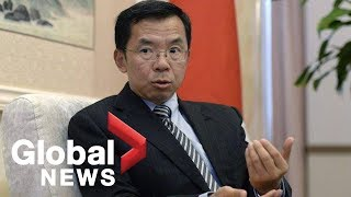 Chinese ambassador threatens of 'repercussions' on Canada if Huawei 5G banned