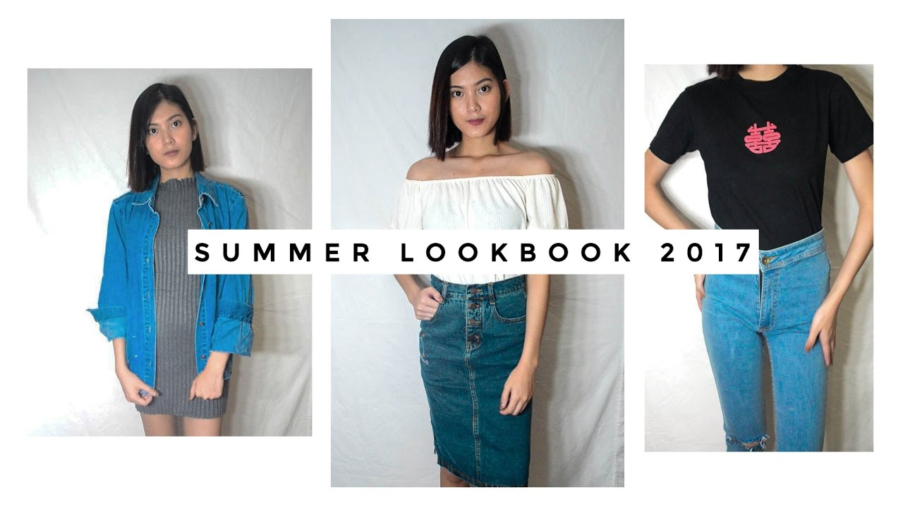 summer lookbook 2017
