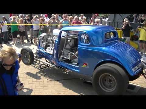 Luke Balogh's 554 Fire-Up at Shipbuilders Square 3rd Annual Show N Shine