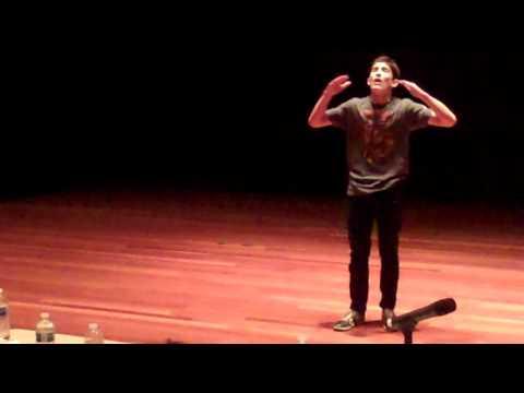 2011 Teen Poetry Slam Semis 1, Noah
