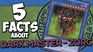 5 Facts About Dark Master - Zorc - YU-GI-OH! Facts & Trivia