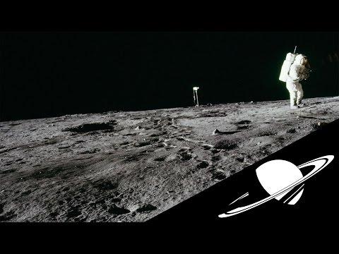 Les premiers mots sur la Lune : Youpi !