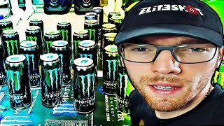 I BOUGHT 50 CANS OF MONSTER ENERGY...