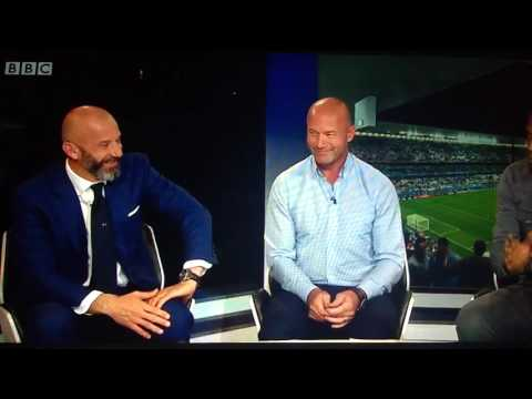 Thierry Henry teaches the English a lesson in class