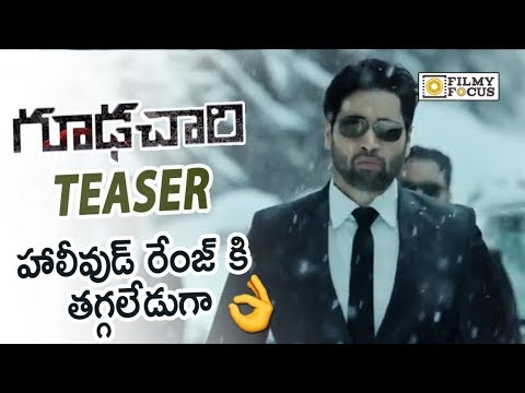 Goodachari Movie Official Teaser || Adivi Sesh, Sobhita Dhulipala - Filmyfocus.com