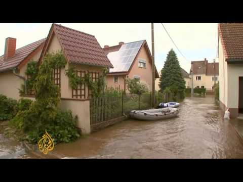 Europe flood damage spreads