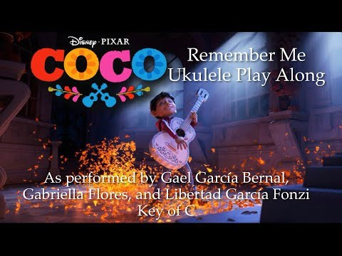 Remember Me (from Coco) Ukulele Play Along