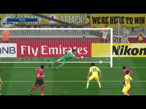 Pes 2016 Kwon Kyung-Won Goal Al Ahli Naft Tehran AFC Champions League