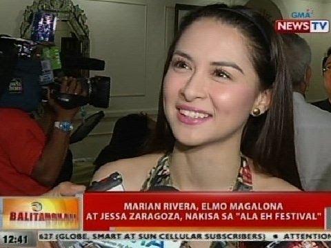 BT: Marian Rivera, Elmo Magalona at Jessa Zaragoza, nakiisa sa