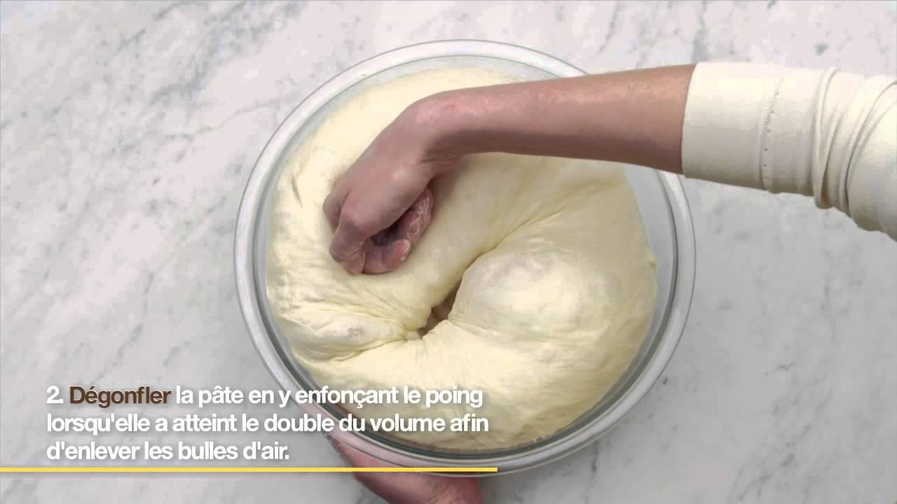 Comment faire lever la p te pain youtube - Comment faire griller du pain au four ...