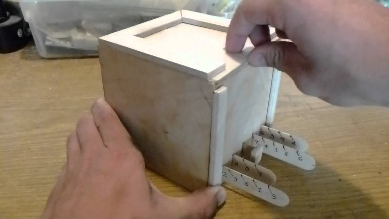 Wooden Puzzle Box Making