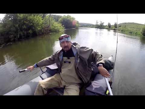 рыбалка на катамаране ondatra