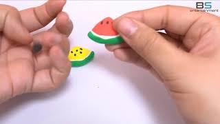 BS ENTER | Trái cây chào hè - Nặn trái cây bằng đất sét - Chơi với đất nặn play-doh