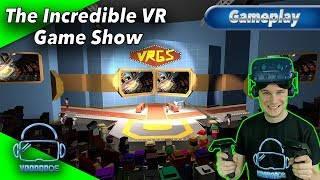 The Incredible VR Game Show - Unglaubliche Minigames [Gameplay][German][Vive Pro][Virtual Reality]