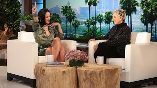 Rihanna Reveals Her Dressing Room Essentials