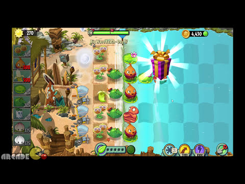 Plants Vs Zombies 2: Big Wave Beach Part 2 Day 17 Octo Zombie