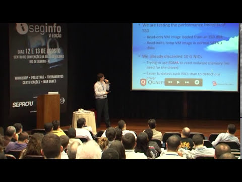 Palestra Automated Malware Analysis - Gabriel Barbosa - Workshop SegInfo 2011
