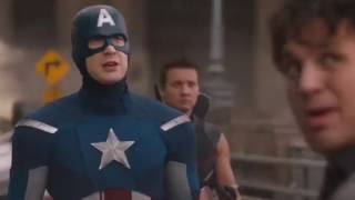 Funny Avenger dubbed video in hindi Part 2  KFM GANG