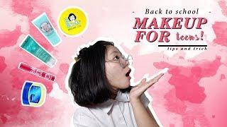 BACK TO SCHOOL : Makeup For Teens || MAKEUP KE SEKOLAH