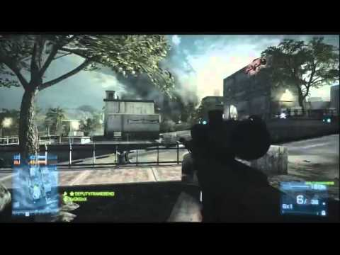 Battlefield 3 Gameplay-Commentary - M98B vs L96 Best Sniper in BF3.