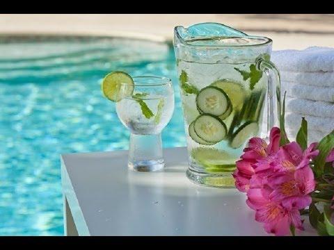 Agua de Pepino para bajar de peso. Preparación 1 minuto / Por Alicia Borchardt