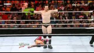 WWE Raw 3/21/11 Evan Bourne vs Sheamus