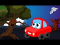 Little Red Car Rhymes Little Red Car In The Scary Wood Scary Nursery Rhymes Children S Songs mp3