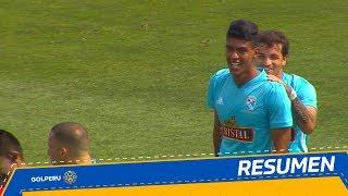 Resumen: Sporting Cristal vs. Deportivo Binacional (4-0)