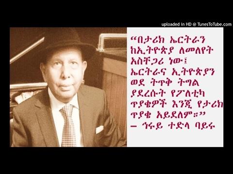 Interview With Herui Tedla Bairu – Pt 1- SBS Amharic