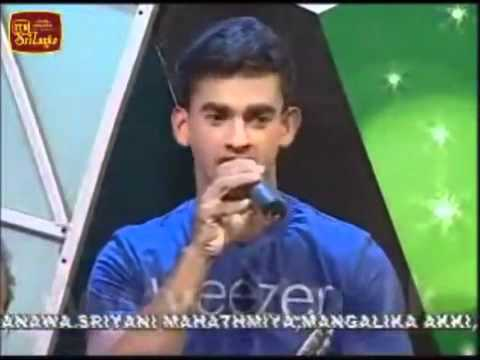 Rehabilitated Former Ltte Carder Sings A Sinhala Song  hanthanata Payana Sada- 13 Dec 2011 video