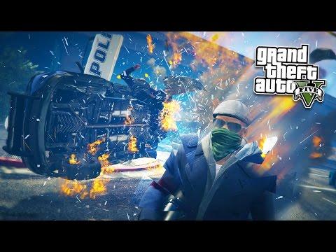 GTA 5 PC Mods - TIME CONTROL POWERS MOD!! GTA 5 Quantum Break Mod Gameplay! (GTA 5 Mod Gameplay)