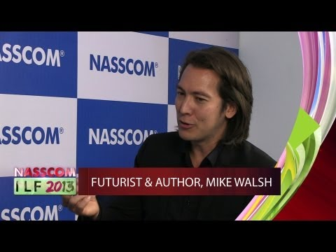 Futurist and Author Mike Walsh : About Technology Consumers Of The Future