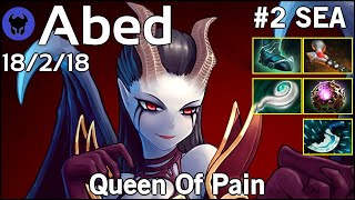 Abed [Fnatic] plays Queen Of Pain!!! Dota 2 7.21
